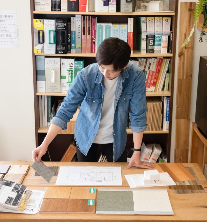 設計士と共に考え世界で一つだけの図面を作る